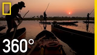 Africa's Pristine Delta in 360 - Ep. 1 | The Okavango Experience
