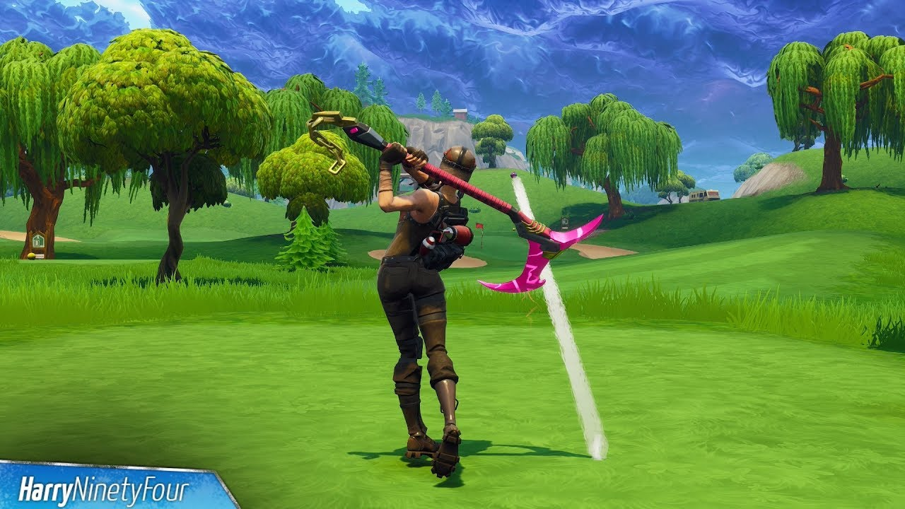 Fortnite Battle Royale - Hit a Golf Ball From Tee to Green ...