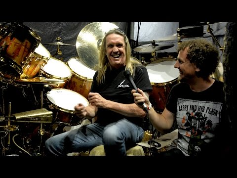 Iron Maiden drummer Nicko McBrain | Book Of Souls tour interview with HK Audio