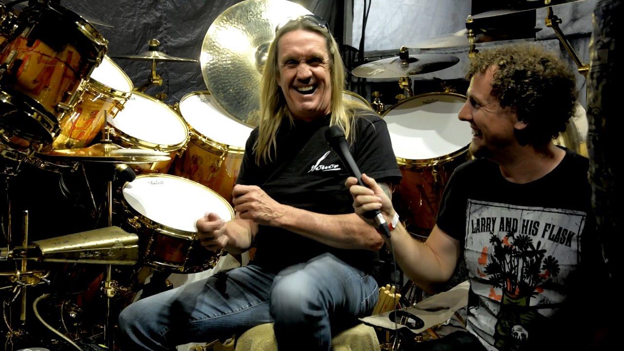iron maiden drummer nicko mcbrain book of souls tour