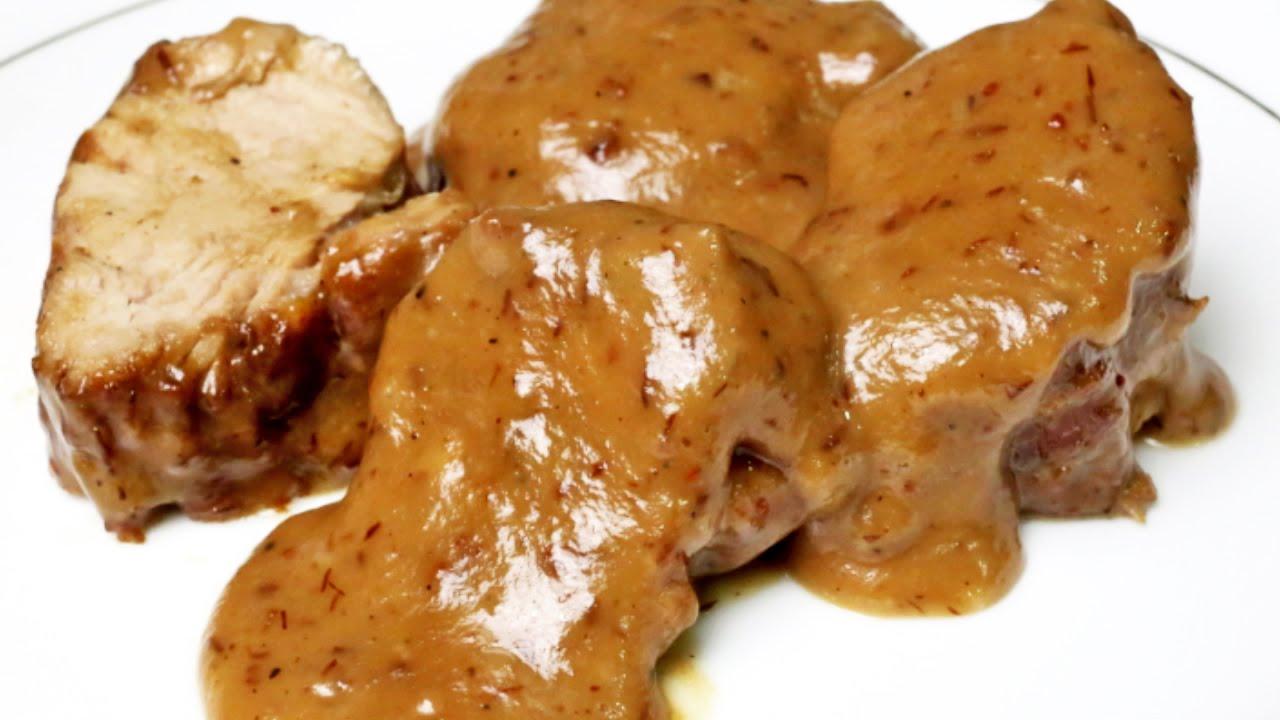receta de solomillo en salsa de ar ndanos youtube