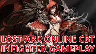 Lost Ark Online CBT Level 19 Infighter Short Gameplay  (로스트아크)