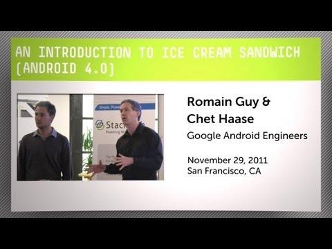 An Introduction to Ice Cream Sandwich (Android 4.0)