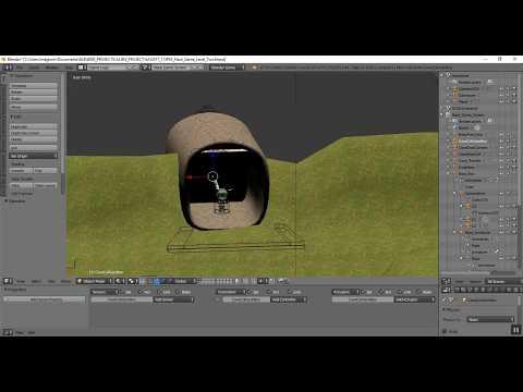 Blender Game Engine BGE Enemy Plant Dialog Process
