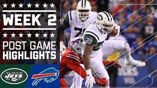 Jets vs. Bills | NFL Week 2 Game Highlights