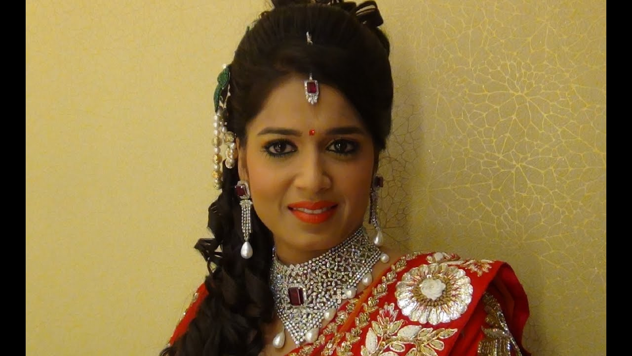 Indian Bridal Makeup - Makeup For Engagement - YouTube
