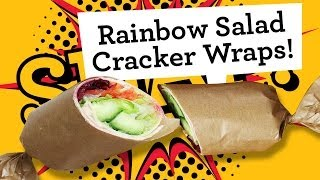 Food Revolution Day: 'free From' Rainbow Salad Wrap Recipe (interactive Video)