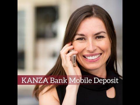 KANZA Bank Video Mobile Deposit
