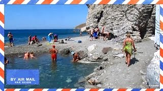 Natural hot springs at Therma Beach on Kos Island - Beaches and attractions in Kos