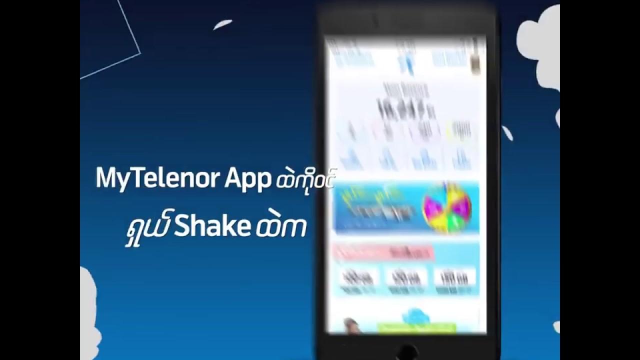 MyTelenor APP | Telenor Myanmar