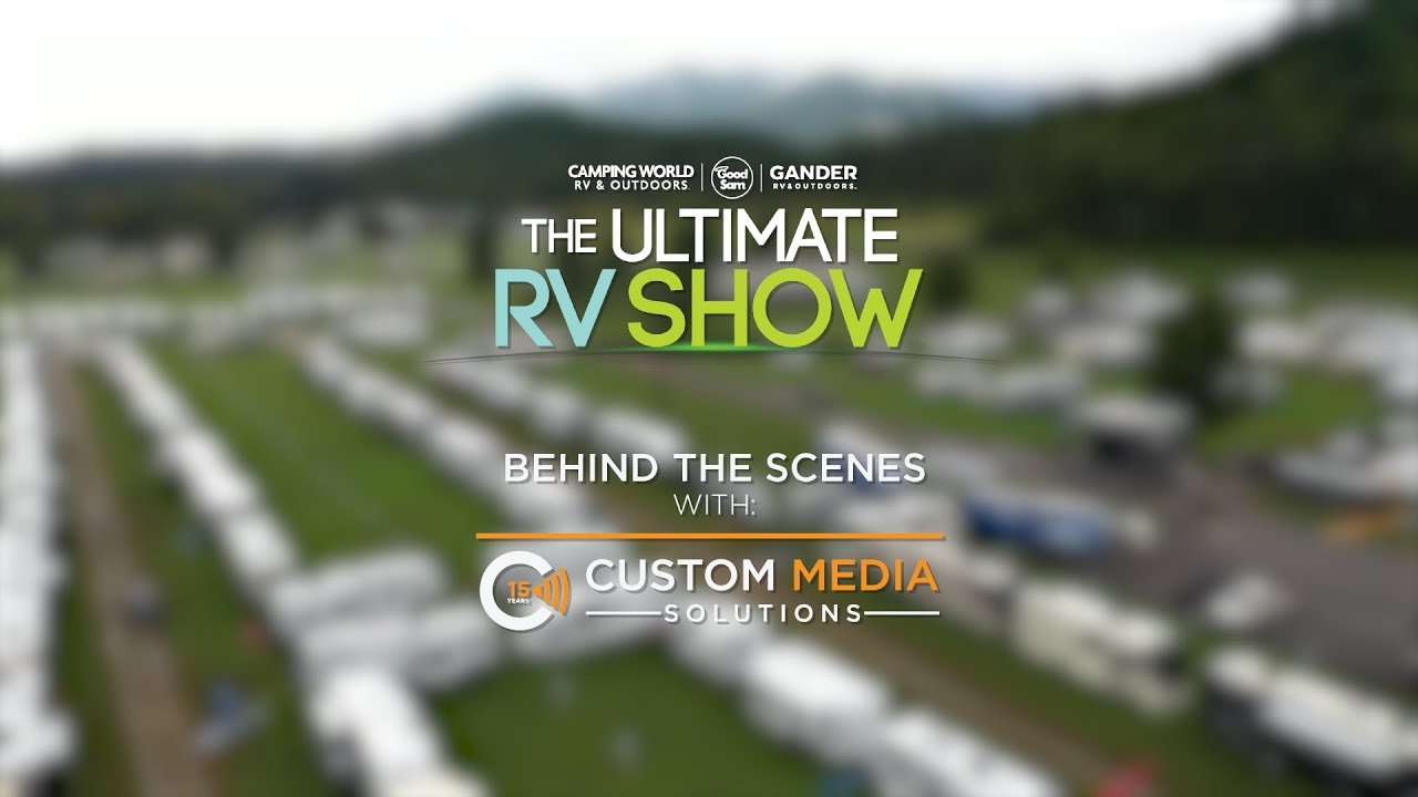 The Ultimate RV Show 2020 - Behind the Scenes
