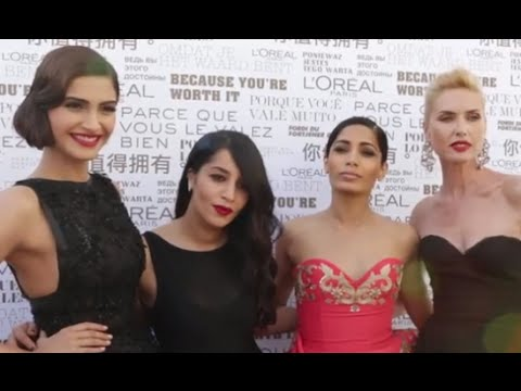 In The Car with Sonam Kapoor & Freida Pinto at Cannes | #InsideCannes 2014 | VOGUE India