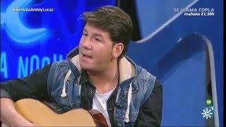"""Menuda Noche 2015/16: Andy y Lucas, guitarra en mano con su """"El Último Beso"""""""