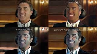 Comixify.ai - Video-cartoonization - The Intouchables