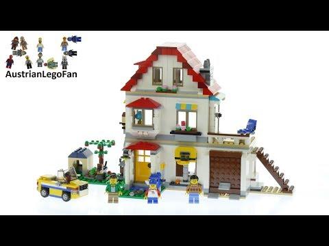 Lego Creator 31069 Modular Family Villa - Lego Speed Build Review