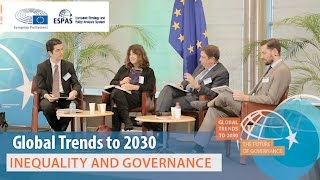 ESPAS Global Trends to 2030, Inequality and Governance Panel, 17 November 2016