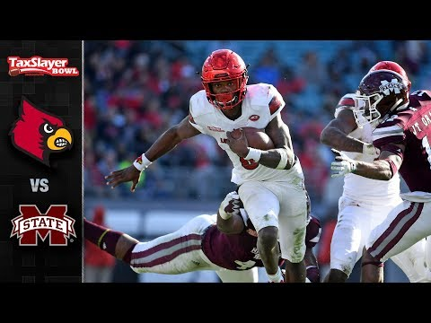 Louisville vs. Mississippi State Tax Slayer Bowl Highlights (2017)