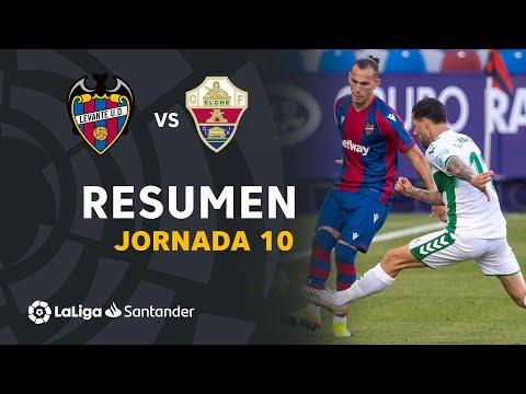 Resumen de Levante UD vs Elche CF (1-1)