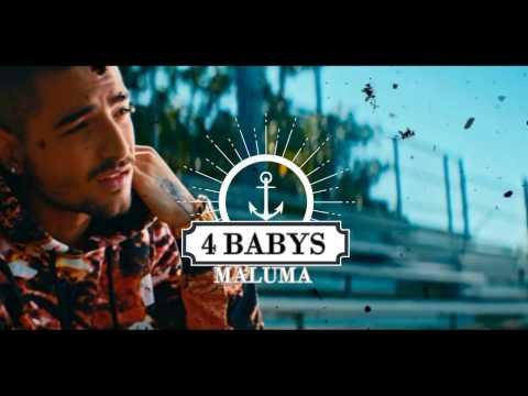 Cuatro Babys - Maluma ft. Noriel, Bryant Myers, Juhn ( LETRA )