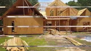 Строительство банка и жилого дома в Америке изнутри.