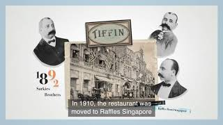 The Tiffin Room - Raffles Stories 2020