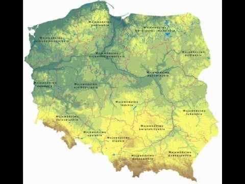 Film Geografia Fizyczna I Gospodarcza Polskiwmv Youtube