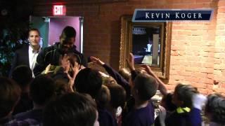 Mike Martin, Kevin Koger and Teammates Surprise Junior Wolverines at Cottage Inn