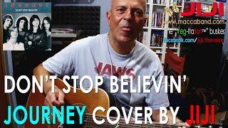 Don't Stop Believin' - Journey   Acoustic cover by Jiji, the Veg-Italian busker