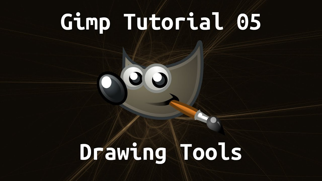 (3) Gimp Tutorial 05: Drawing Tools - YouTube