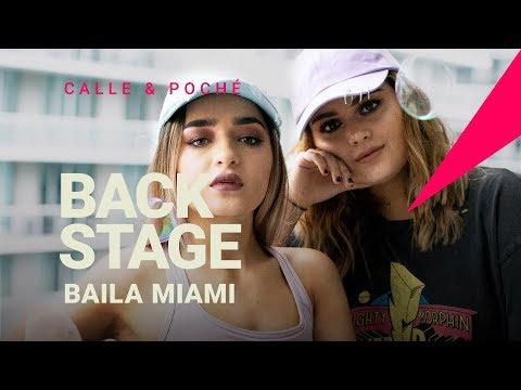 Raze Baila Miami BTS Calle y Poché ft. Mal de la Cabeza de Mau y Ricky