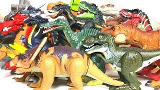 【Dinosaur toy】moves!bark!Battery powered
