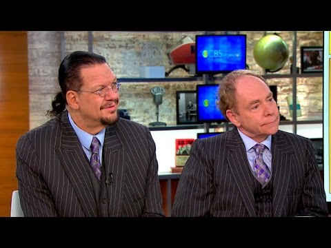 Magicians Penn & Teller head back to Broadway after 23 years