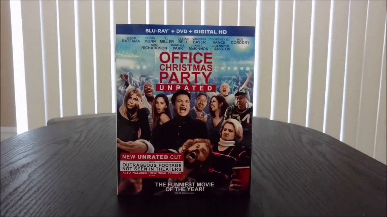Quick Unboxing: Office Christmas Party Blu-ray - YouTube