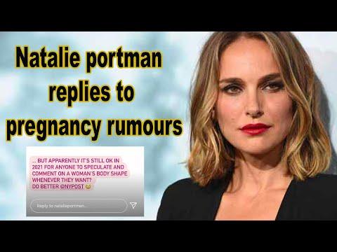 Natalie Portman Shut Down a Body-Shaming Report Suggesting She's Pregnant | Bollyy TV