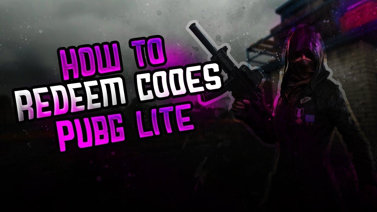 How To Redeem Pre Registration Code Pubg Lite Pc How To Redeem Skin Codes In Pubg Lite