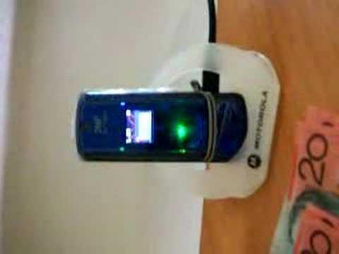 Motorola Krzr Funlights!
