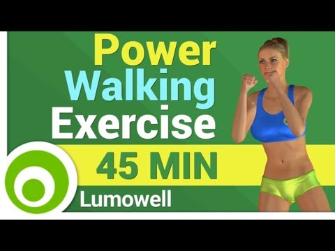Power Walking Exercise at Home - 3 Miles