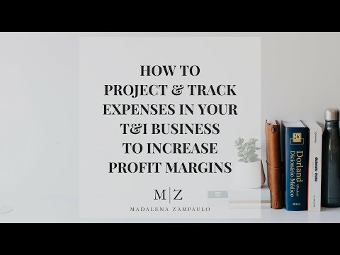 How to Project and Track Expenses in Your T&I Business to Increase Your Profit Margins