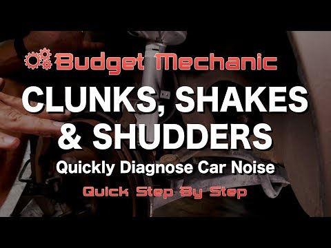 Quickly Diagnose Steering & Suspension Clunking Noise in your Car - Toyota Shaking