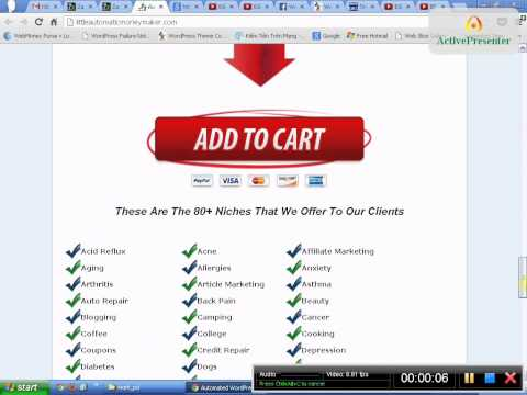 Automated WordPress Sites Built For You | Little Automatic Money Maker
