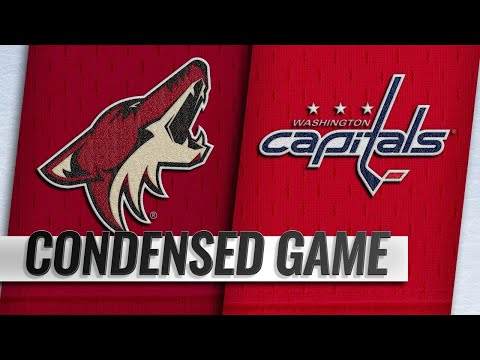 11/11/18 Condensed Game: Coyotes @ Capitals