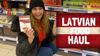 Latvian Food Haul | Grocery Shopping in Latvia