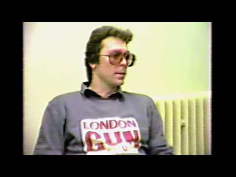 Steve Hackett, Plymouth Polytechnic SUTV Interview