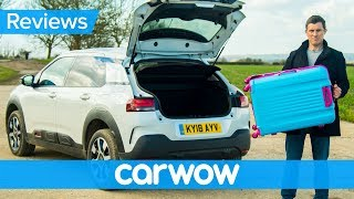 Citroen C4 Cactus 2018 SUV practicality review   Mat Watson Reviews