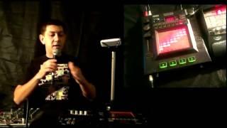 Как делать live looping на Kaoss pad3 .Видео урок №1.Хип-хоп