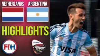 Netherlands v Argentina | 2018 Men's Hockey Champions Trophy | HIGHLIGHTS