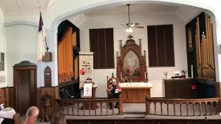 Sept. 19, 2021 CL Lutheran Worship Service