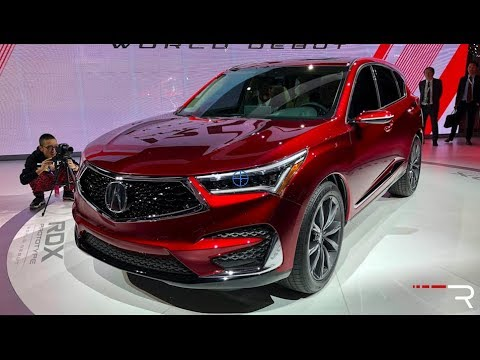 2019 Acura Rdx Redline First Look 2018 Naias Youtube