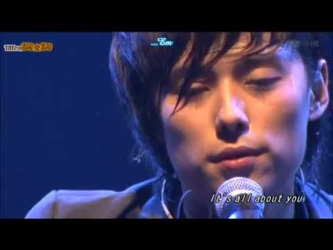 Hanbang&World in Live Toumeihan - All about you & That man (Engsub+Vietsub)