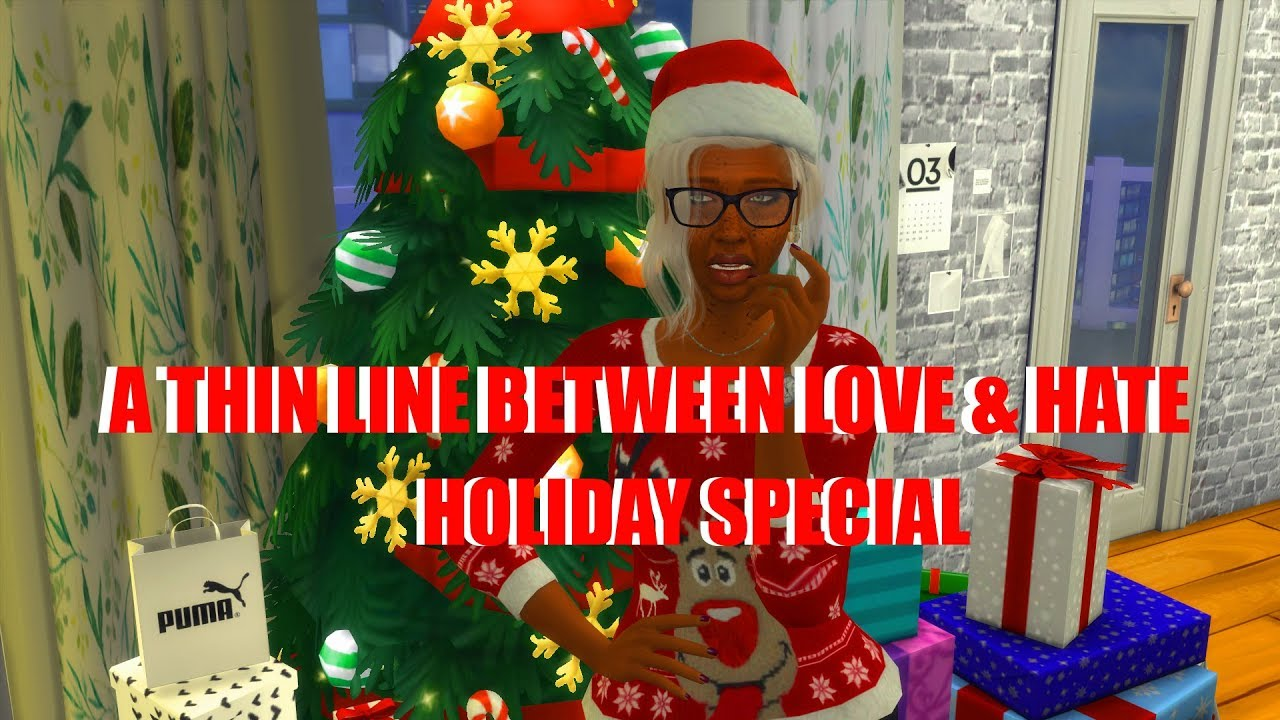Special Holiday Edition Tis Season For >> Sims 4 Series Season 1 Holiday Special A Thin Line Between